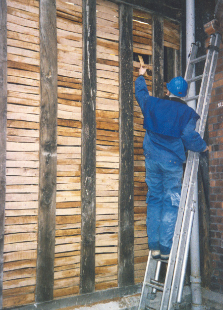 Laths at Gainsborough Old Hall